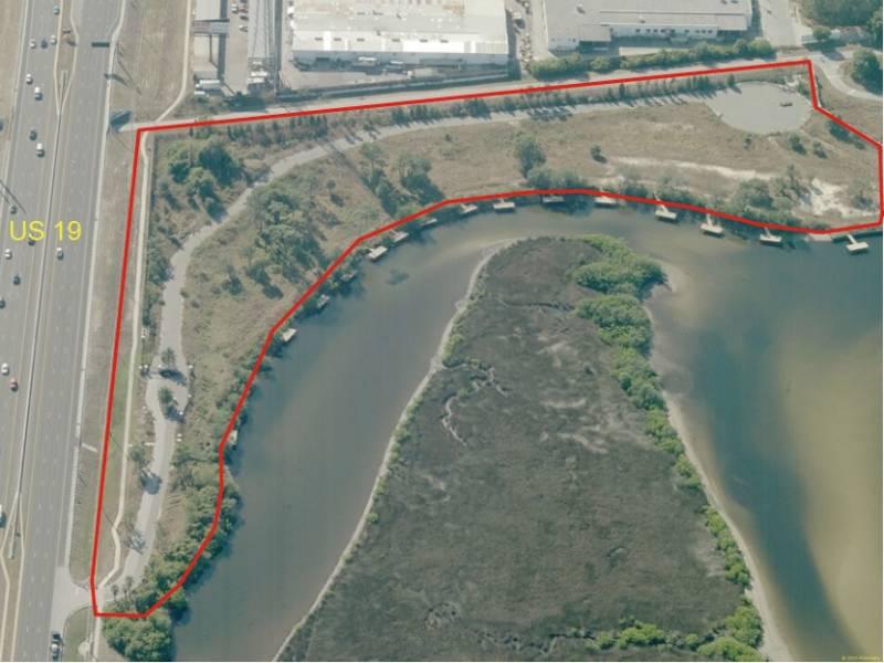 Developed Homesites On Anclote River TotalCommercialcom - Us 19 florida map